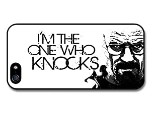 Breaking Bad Walter White Quote I Am the One Who Knocks White Background case for iphone 6 4.7