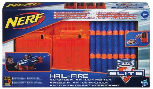 Nerf A00911480 Elite - 24 recambios y 4 Cargadores para ...