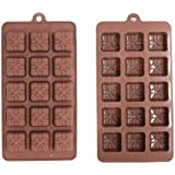 Silicone Ice Tray / Chocolate Mould - Presents Design (1)