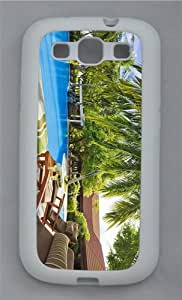 case amazing cover maldives resort TPU White case/cover for Samsung Galaxy S3 I9300
