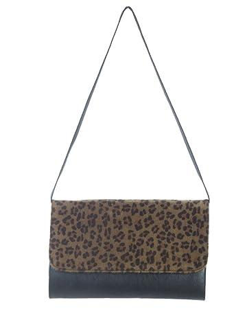 fe1a58f849f2 Amazon.com: Women's Leopard Print Envelope Clutch: Beauty