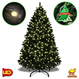 Strong Camel 6.5' Artificial Fir Christmas Tree with 1880 branch tips Xmas tree