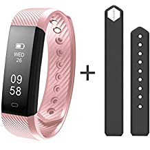 Diggro ID115HR Smart Bracelet Heart Rate Bluetooth 4.0 Sports Pedometer Calorie IP67 Waterproof Sleep Monitor Call/SMS Reminder Sedentary Reminder for Android IOS