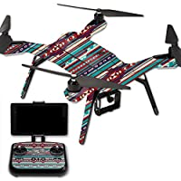 Skin For 3DR Solo Drone – Southwest Stripes | MightySkins Protective, Durable, and Unique Vinyl Decal wrap cover | Easy To Apply, Remove, and Change Styles | Made in the USA