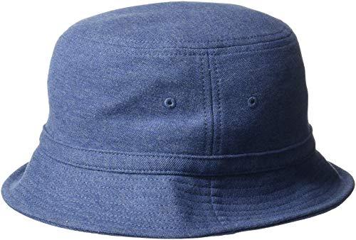 Lacoste Men's BOB Pique HAT, Cruise Chine, L (Lacoste Hats For Men)