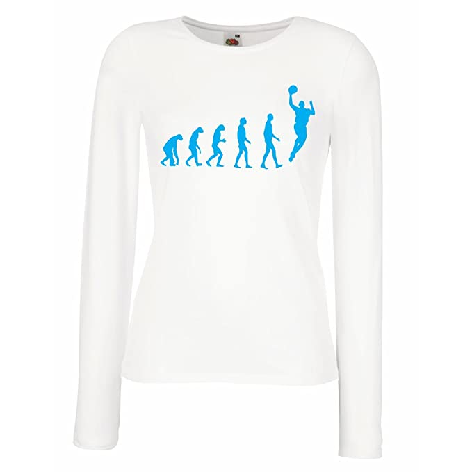 lepni.me Camisetas de Manga Larga para Mujer evolución de ...