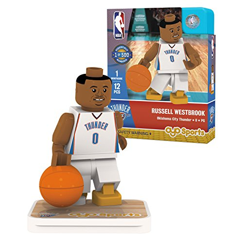 OYO Sports NBA Minifigure Oklahoma City Thunder Russell Westbrook by OYO