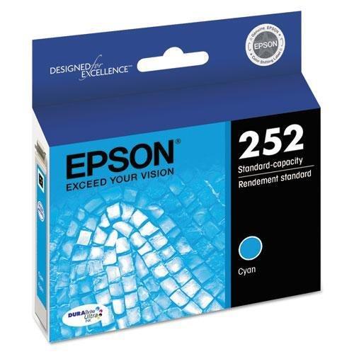 EPSON T252220 T252220 (252) DURABrite Ultra Ink, Cyan