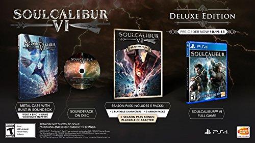515UwxY1QUL - Soulcalibur VI - PlayStation 4 Deluxe Edition