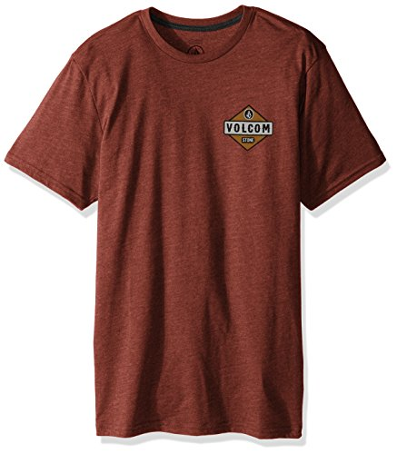 volcom-mens-caution-short-sleeve-tee-dark-clay-large