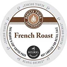 Barista Prima Coffeehouse Dark Roast Extra Bold K-Cup for Keurig Brewers French Roast Coffee 96-count