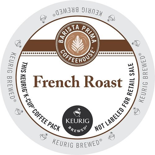 Barista Prima Coffeehouse Coffee, Keurig K-Cups, Dark Roast Extra Bold, 96- Count by Barista Prima