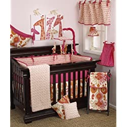Cotton Tale Designs Sundance Girl's Crib Bedding Set, 8 Piece