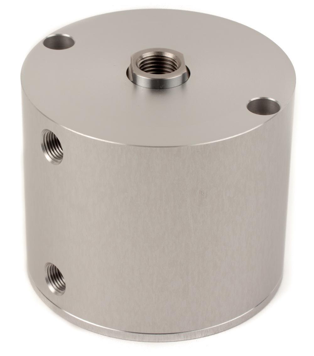 Fabco-Air E-321-X Original Pancake Cylinder, Double Acting, Maximum Pressure of 250 PSI, 2' Bore Diameter x 1-1/2' Stroke