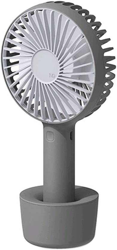 Color : White BEDKING Summer Mini Handheld Fan USB Charging Portable Household Four Leaves Strong Airflow Travel Fan Very Suitable Camping Travel Family Office Outdoor