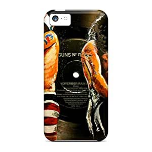 Iphone 5c Maa5088eqeU Provide Private Custom Lifelike Guns N Roses Pictures High Quality Hard Cell-phone Case -CharlesPoirier