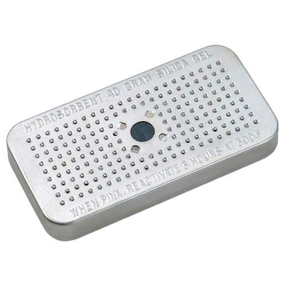 Silica Gel 40 Gram Hydrosorbent Desiccant Aluminum Canister 3 Pack