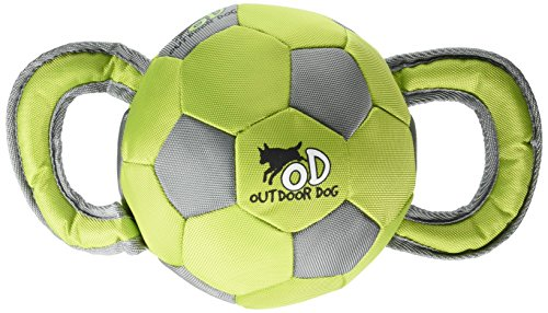- All for Paws Outdoor Dog Ballistic Soccer Ball, Assorted Colors