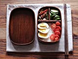 bento box accesories - Japanese Bento Boxes Wood Lunch Box (Urushi)