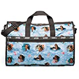 LeSportsac Disney Moana Wave Reader Large Weekender + Cosmetic Bag