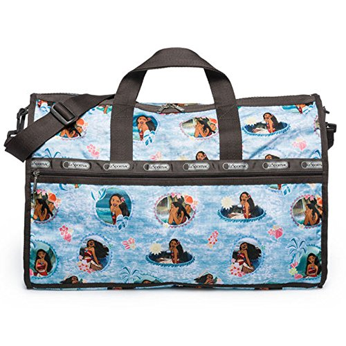 LeSportsac Disney Moana Wave Reader Large Weekender + Cosmetic Bag by LeSportsac