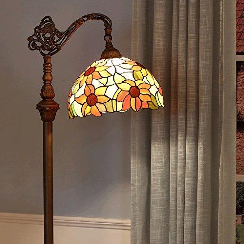 Edge To Floor lamp 12 Inch Sunflower Floor Lamp Field European Living Room Bedroom Study Garden Creative Sun Flower Leisure Art Adjustable Lighting - European Classic 12 Light