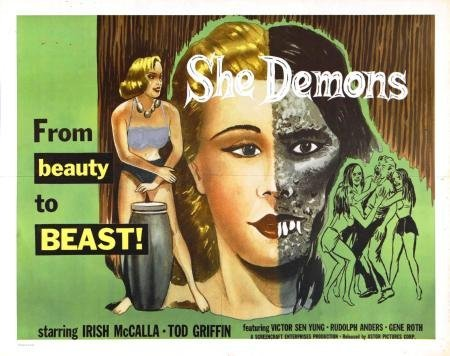 She Demons Movie Poster