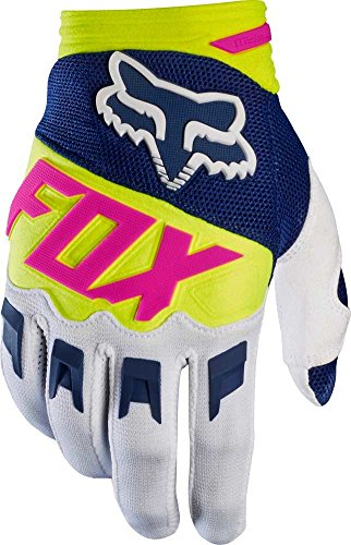 Dirtpaw Gloves Youth (Fox Racing Dirtpaw Youth Boys MotoX Motorcycle Gloves - Navy/White/Large)