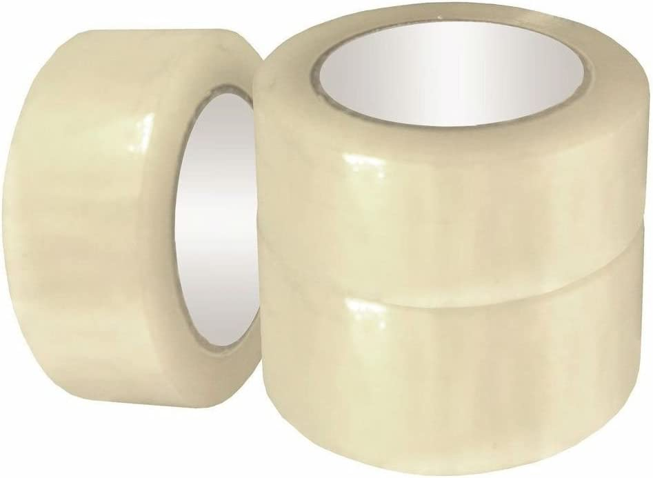 "36 Rolls-110 Yards 330/' 2/"" 2.0MIL Sealing Packing Shipping Box Carton Tape Clear"