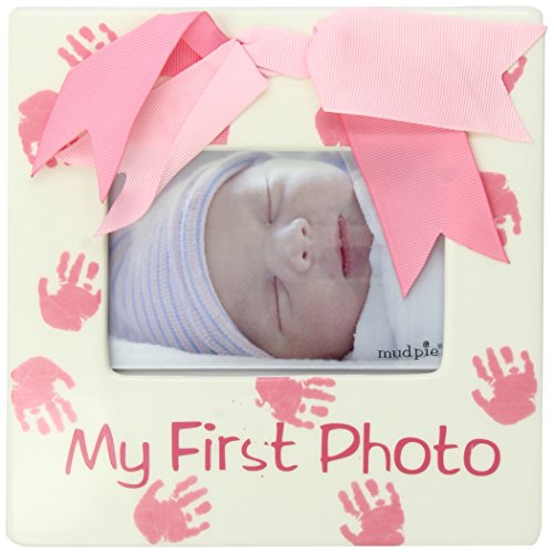 Mud Pie Baby Little Princess Ceramic My First Photo Frame