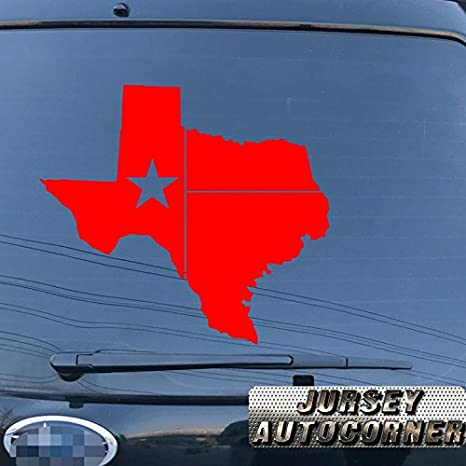 Map Flag of Texas State Outline Car Sticker Silver Vinyl Decal 2/'/' 6/'/' 8/'/' 20/'/'