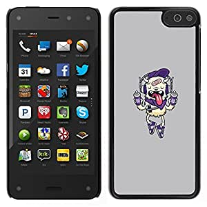 For Amazon Fire Phone Case , Spray paint Monster - Diseño Patrón Teléfono Caso Cubierta Case Bumper Duro Protección Case Cover Funda