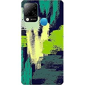 Amagav Soft Silicone Printed Mobile Back Cover for Infinix Hot 10S -Design159