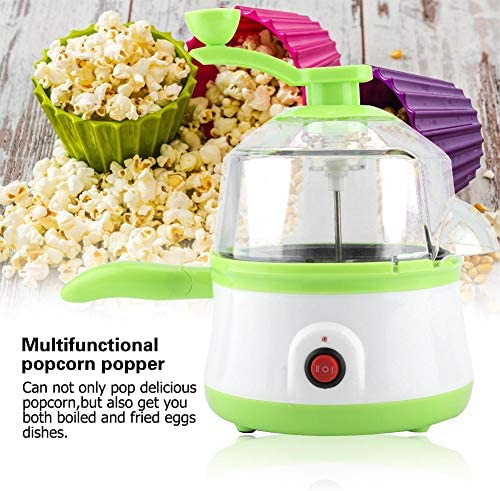 Palomitas de aire caliente Popper Mini Popcorn Popper, dos en un Palomitero Huevo Huevo Frito Horno Cocina Herramientas: Amazon.es: Hogar