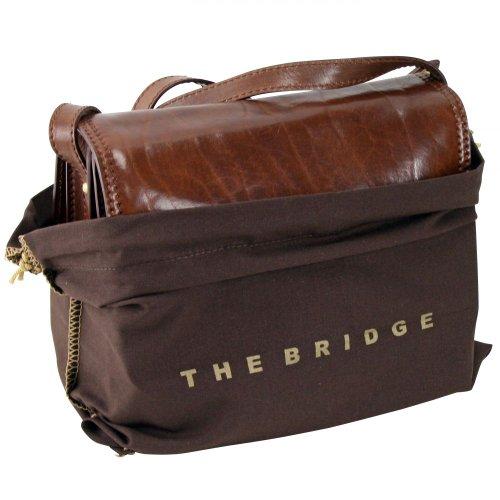 The Bridge Story Donna borsa a tracolla pelle 26 cm Nero