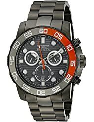 Invicta Mens 21556 Pro Diver Stainless Steel Watch with Link Bracelet