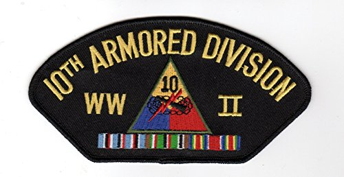 Wwii Hat Patch - 10th Armored Division WWII Hat Patch