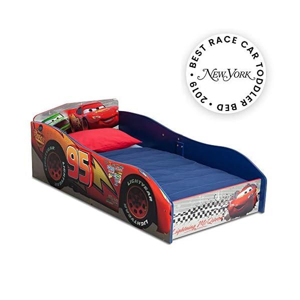 Delta Children Wood Toddler Bed, Disney/Pixar Cars 1