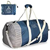 Foldable Travel Luggage Duffle Bag Lightweight for Sports, Gym, Vacation and Travel Duffel Bags(60l, Blue)