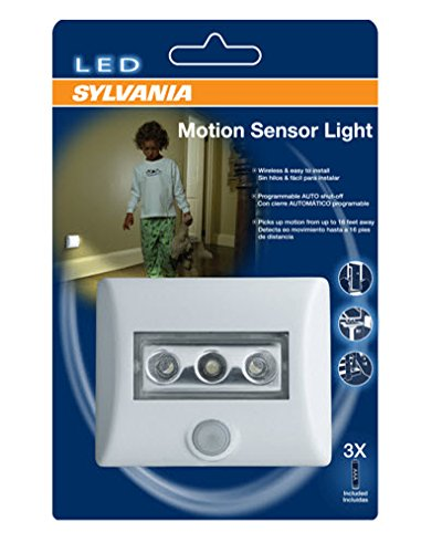SYLVANIA LED Night Light with Motion Sensor and Auto On/Off