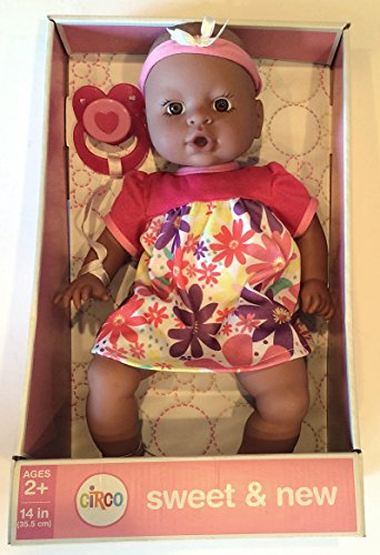 Amazon Com Circo Sweet New Baby Girl 14 H Doll Toys Games