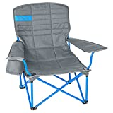 Kelty Lowdown Camp Chair - Smoke / Paradise Blue