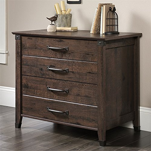 Pemberly Row 2 Drawer Lateral File Cabinet in Coffee Oak