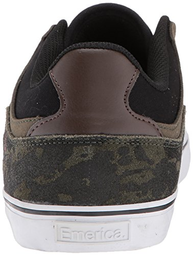 The Vulc Uomo Emerica Green Scarpe Skateboard White Low da Black HSU PO7aR7q4