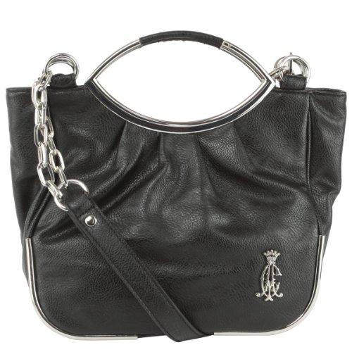 8d4264ecb7 Christian Audigier Peggy Crossbody Bag- Black - Buy Online in Oman ...