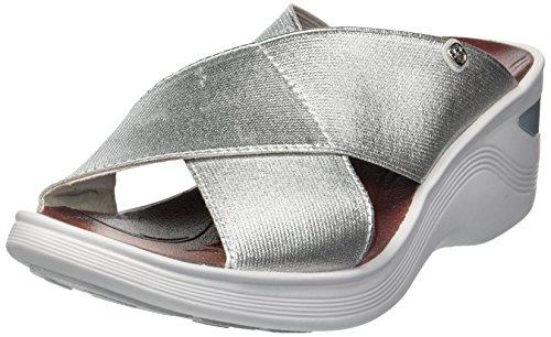BZees Women's Desire Sandal, Silver/Metallic Gore, 7.5 M US from BZees