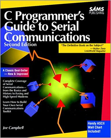 Amazon com: C Programmer's Guide to Serial Communications