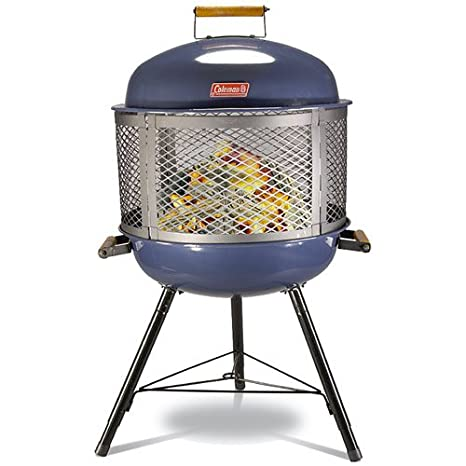 Amazon.com : Coleman Roadtrip Fireplace Grill Blue : Camping Stove Grills :  Sports & Outdoors - Amazon.com : Coleman Roadtrip Fireplace Grill Blue : Camping Stove