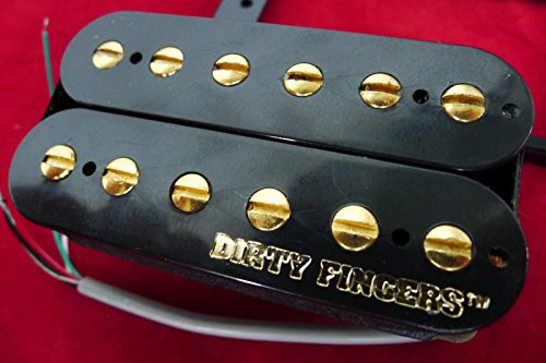 dpaerofly Genuine Dirty Fingers Humbucker Guitar Pickup For Archtop LP,335, Etc (Fingers Dirty Gibson)