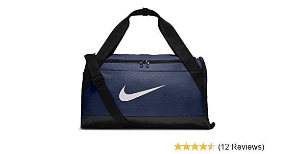Amazon.com  NIKE New Brasilia (Small) Training Duffel Midnight Navy Black  White One Size  Nike  Sports   Outdoors 2c96e79200389